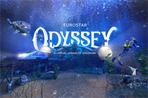 Eurostar creates dreamy seascape onboard VR experience with AKQA