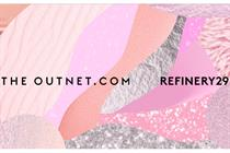 The Outnet.com and Refinery29 create window display experience