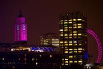 Event TV: John Frieda enlists Millie Mackintosh for OXO Tower stunt