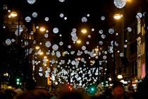 Pandora named headline sponsor of Oxford Street Christmas Lights event