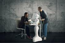 Pepper the robot's first marketing campaign paves way for android invasion