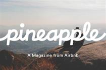 Airbnb reconsiders future of £9 Pineapple magazine