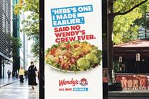 Wendy's takes aim at Ronald McDonald in return to UK high street