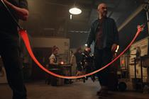 BT promotes its 'unbreakable' wi-fi packages with slapstick comedy