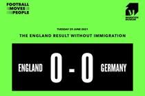 Migration Museum, easyJet and Paddy Power quick off the mark after England triumph