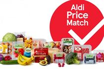 Tesco takes aim at Aldi with price-match campaign