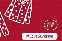 Post Office celebrates Sunday branch opening with #LoveSundays campaign