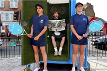 Bathstore creates luxury toilet activation for Wimbledon