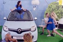 Flamingo features in new Renault ads