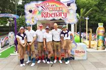 Ribena crazy golf roadshow gets underway