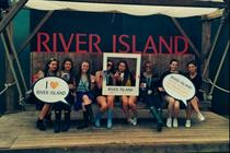 River Island launches 'selfie swing' activation at Parklife