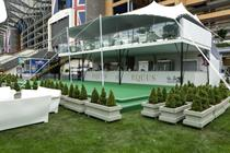 In pictures: Halo Group delivers hospitality area for Royal Ascot