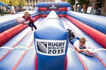 In pictures: Sledge produces three-day RWC Fan Zone in Manchester
