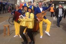Fresh brings to life William Hill's Cheltenham Festival activation