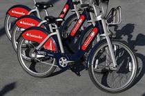 Boris bikes rebranded 'Santander Cycles' in £44m deal
