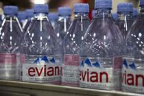 Evian to give away 250,000 bottles of water to commuters