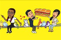 Snapchat features 'real friends' in debut global ad campaign