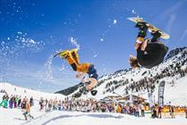Three promises experiential zones in return as Snowbombing partner
