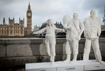 In pictures: SodaStream unveils sugar statues to combat sugary drinks