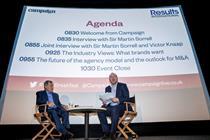 Sorrell reveals Warren Buffett made 925p-a-share offer for WPP
