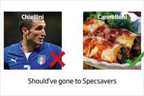 Want a tactical ad? Should have gone to Specsavers