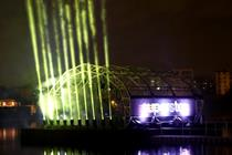 In pictures: Adidas launches Supercolor with Hackney light show