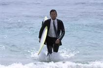Why Quiksilver's 'suited surfer' viral is making waves