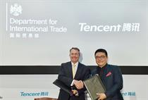 Tencent signs govt deal to open pathway to China for UK's creative industries