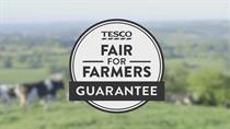 Tesco talks up fair deal for farmers with new guarantee on milk