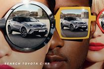 Toyota targets hip young things with campaign for new model C-HR