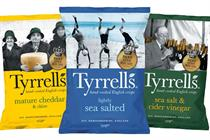 KP Snacks picks St Luke's for Tyrrells, Popchips and KP Nuts