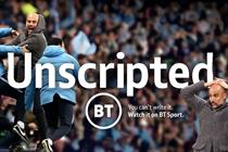 BT Sport reveals you can't script football in campaign for new season