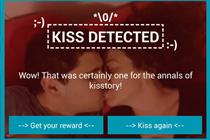 Lidl asks couples to kiss in front of their phones for prizes