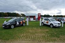 Vauxhall goes on safari to launch two new models of car