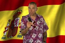 Watch: Vinnie Jones gives atrocious Spanish lessons for Three