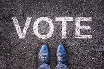 Instant lose: when politicians do sales promotion