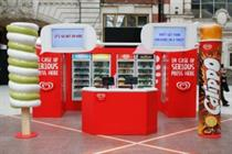 Wall's opens pop-ups in Victoria and Waterloo stations