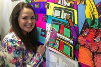 In pictures: Ribena's pop-up colouring cafe