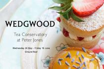 Wedgwood and John Lewis to host floral-themed tea experience