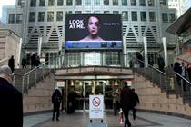 Watch: behind Women's Aid's 'look at me' interactive billboard campaign