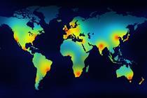 Global creative hotspots: North America
