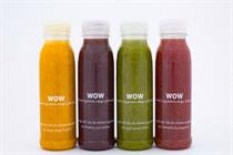 Wow juice to launch in UK with experiential activity