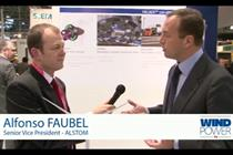 Windpower TV - Alstom vice president Alfonso Faubel