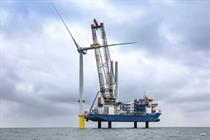 First turbine installed at Blyth test site