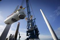 Wind investment falls to four-year low