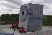 SGRE unveils 'world's largest' blade rig