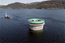 Video:  Hywind Tampen floating foundations move to deep water