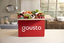 Recipe box brand Gousto hires UK agency partner