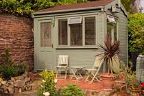 Where I get my best ideas: The pub in my garden shed