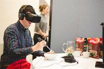 In pictures: Kellogg's unveils time-travelling VR experience